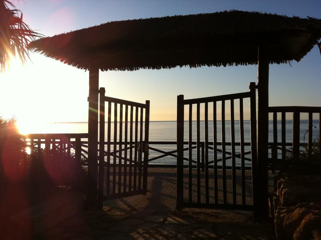 A beautiful beach in Estepona